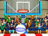 3D Basketball: A missed shot