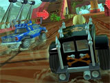 Beach Buggy Racing 2 intense race