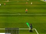 Goal kick in Super Arcade Soccer