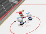Blocking an opponent in Slapshot