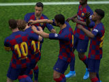 Celebrating a Goal in eFootball PES 2020