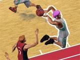 Gameplay for Showstopper Basketball