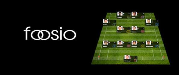 Foosio - Enter world wide player leagues in a stunning new football manager game.