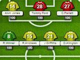 Manager League Team Sheet