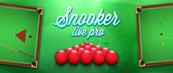 Snooker Live Pro - Enjoy a brilliant snooker game full of action and fun free on Facebook.