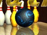 Enlarging Ball in Gutterball Golden Pin Bowling