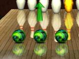 Gutterball Golden Pin Bowling Ball Split Booster