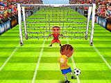 Great Goals when Finishing a Level in Soccer Rush