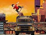 School Bus Ollie in Skate Mania