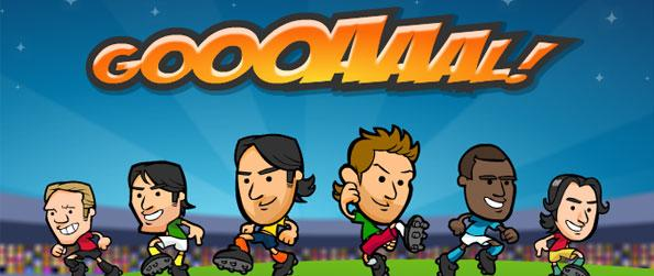 Goooaaal World Cup - Soar through the soccer fields trying to pull-off the greatest half-court plays in the history in this fast-paced soccer game.
