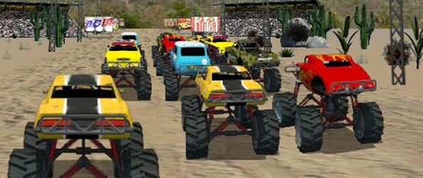 Monster Truck Fever - Participate in intense races against tough competitors as you aim to prove yourself the very best of them all.