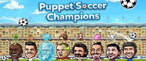 Puppet Soccer Champions - Enjoy a really fun and humorous spin on the sport of soccer.