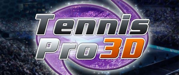 Tennis Pro 3D - Take part in an exhibition tennis game or battle it out on a grand scale tournament to get you polished in this amazing 3D tennis game ported on Facebook.