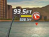 Striking a Catch in Ace Fishing: Paradise Blue