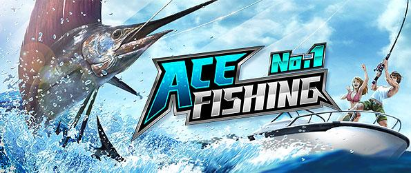 Ace Fishing: Paradise Blue - Catch the latest sports craze experience from an angling simulation game designed for on-the-go play, mobile platform based, Ace Fishing: Paradise Blue.
