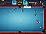 One on One Match-up in 8 Ball Pool