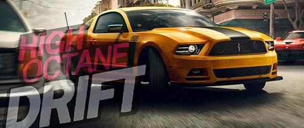 High Octane Drift - Upgrade and customize your car specifically for drift races in this unique racing game in Facebook.