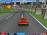 American Racing Basic Game Screen