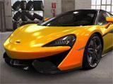 A cool-looking McLaren in CSR Racing 2