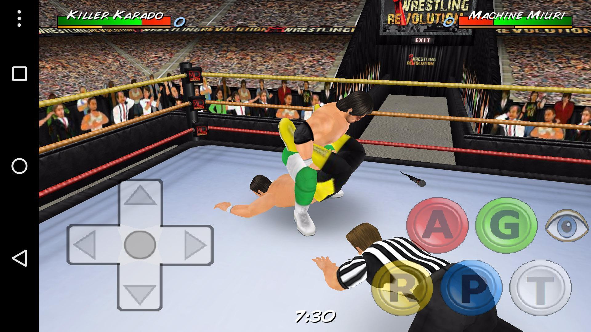 Wrestling Revolution 3D - Sports Games Live