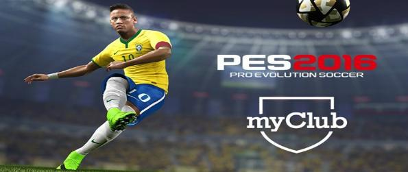PES 2016 myClub -  This free-to-play version of PES allows gives you three game modes from the main game: Training, offline Exhibition Match, and myClub.