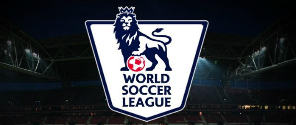 World Soccer League - Pick a team from a selection based on English Premiere League teams and use your favorite players to score goals!