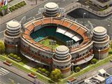 Build your sports city in Super Soccer Club