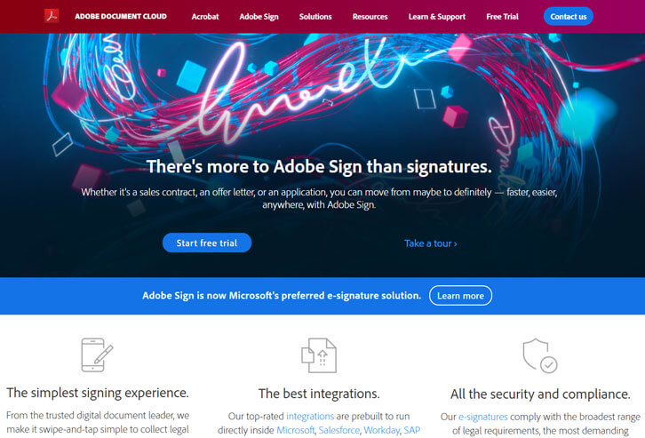 Adobe Document Cloud - Time to Buy