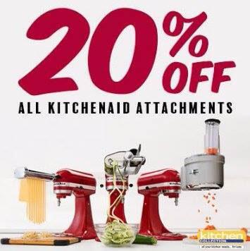 KitchenAid 20% off