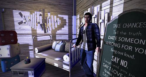 A Tester's virtual home in Project Sansar