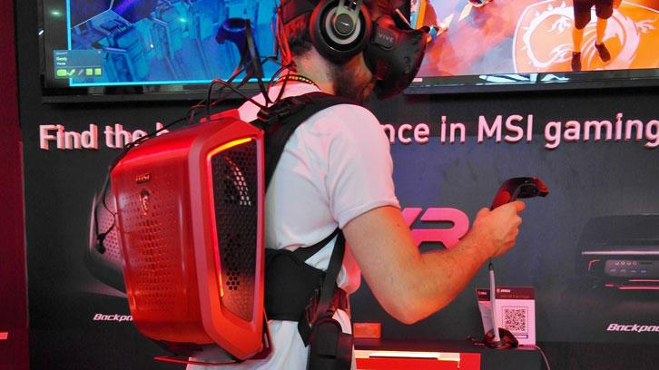 MSI VR One in action