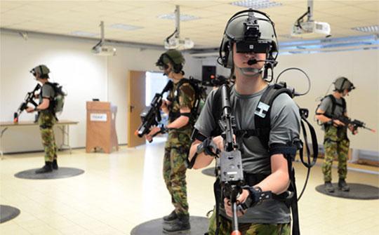 VR FPS eSports Simulator