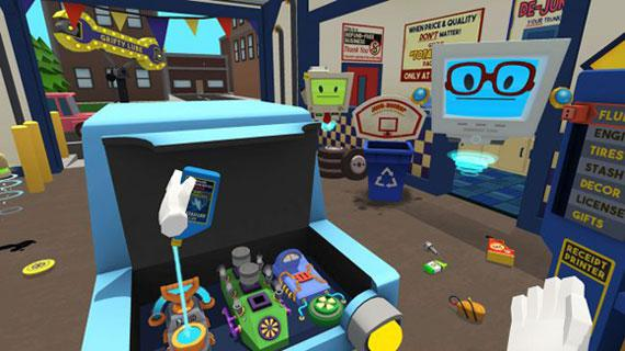 My First VR Experience: The Sleazy Garage