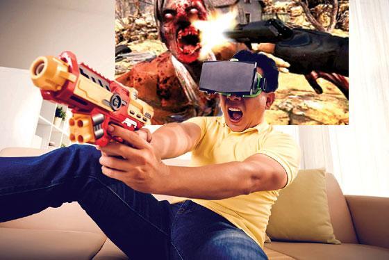 VR FPS Addiction