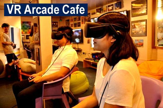 VR Arcade Cafe