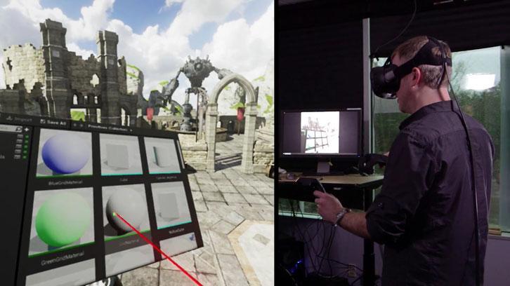Unreal Editor VR