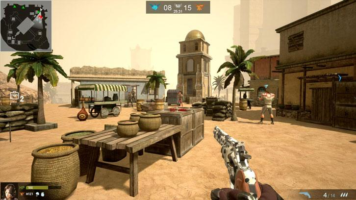 Gameplay in V OF WAR