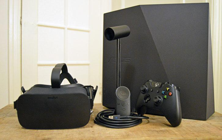 Oculus Tech Set Up