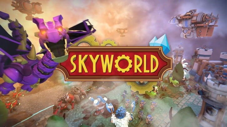 Skyworld Catapults onto PlayStation VR, Award-Winning War Game Now Available