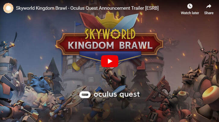 Highly Competitive VR Card-Battler Skyworld: Kingdom Brawl Announced For Oculus Quest