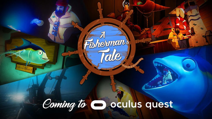 VR Game Of The Year A Fisherman's Tale Comes to Oculus Quest on November 27