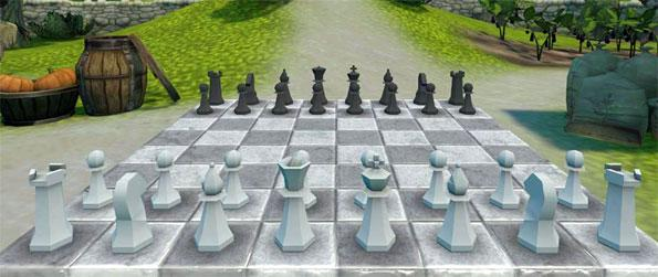 Chess Garden VR - Challenge your opponent to a game of chess in a picturesque virtual garden in Chess Garden VR!