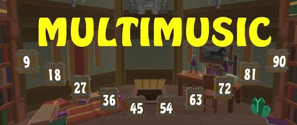 Multimusic - Combine your love for math and music in this one-of-its-kind, educational VR game, Multimusic!