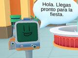 Busuu: Greeter robot