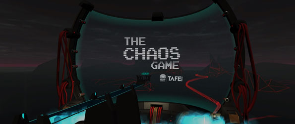 The Chaos Game - Attack a network with malicious code or defend it from invaders in this hacking-themed tower defense VR game, The Chaos Game!