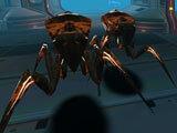 Portaller Demo: Various aliens to shoot at