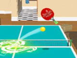 Swipe to hit the ball in Ping Pong Table Tennis