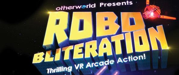 RoboBliteration - Pit your arcade shooting skills against the unending horde of enemy robots in this thrilling arcade action game, RoboBliteration!