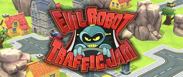 Evil Robot Traffic Jam - Take on the role of an agent of the Evil Robot Defense Force and use all your towers and abilities to stop the evil robots from causing traffic jams!