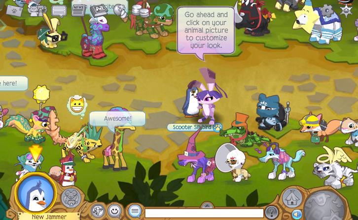 Learn new things in Animal Jam